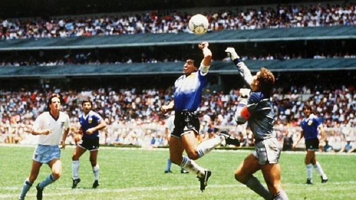 Maradona a mão de deus
